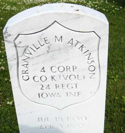 ATKINSON, CORP. GRANVILLE M. - Jones County, Iowa | CORP. GRANVILLE M. ATKINSON
