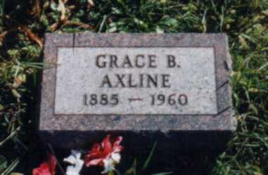 AXLINE, GRACE B. - Jones County, Iowa | GRACE B. AXLINE