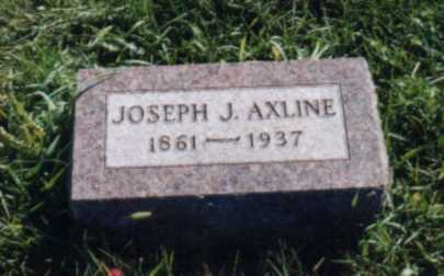 AXLINE, JOSEPH J. - Jones County, Iowa | JOSEPH J. AXLINE