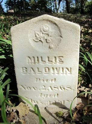 BALDWIN, MILLIE - Jones County, Iowa | MILLIE BALDWIN