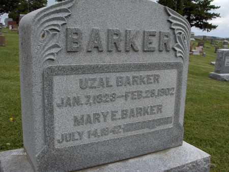 BARKER, MARY E. - Jones County, Iowa | MARY E. BARKER
