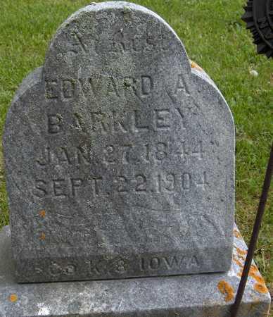 BARKLEY, EDWARD A. - Jones County, Iowa   EDWARD A. BARKLEY
