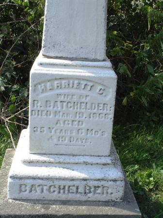 BATCHELDER, HARRIETT C - Jones County, Iowa | HARRIETT C BATCHELDER