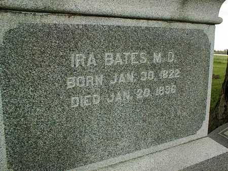 BATES, DR. IRA - Jones County, Iowa | DR. IRA BATES