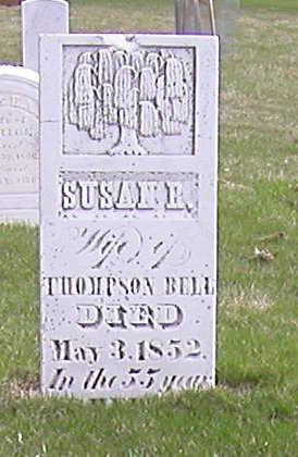 BELL, SUSAN - Jones County, Iowa   SUSAN BELL