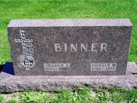 BINNER, DONALD W. - Jones County, Iowa   DONALD W. BINNER
