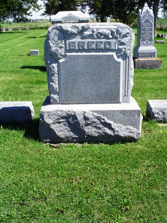 BREED, FAMILY HEADSTONE - Jones County, Iowa | FAMILY HEADSTONE BREED
