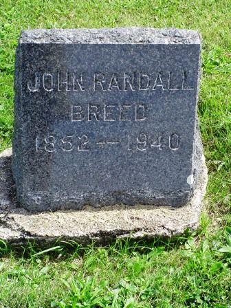 BREED, JOHN RANDALL - Jones County, Iowa | JOHN RANDALL BREED
