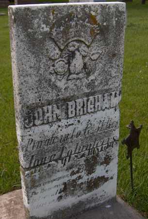 BRIGHAM, PVT. JOHN - Jones County, Iowa | PVT. JOHN BRIGHAM