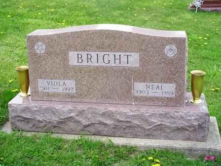 BRIGHT, VIOLA - Jones County, Iowa | VIOLA BRIGHT