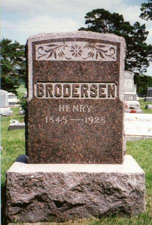 BRODERSEN, HEINRICH - Jones County, Iowa | HEINRICH BRODERSEN