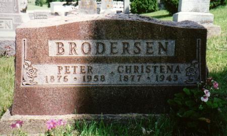 BRODERSEN, PETER - Jones County, Iowa | PETER BRODERSEN