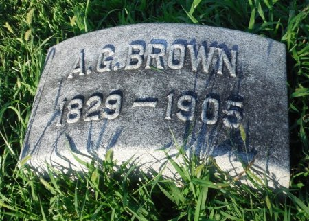 BROWN, A. G. - Jones County, Iowa | A. G. BROWN