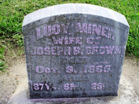 BROWN, LUCY - Jones County, Iowa | LUCY BROWN