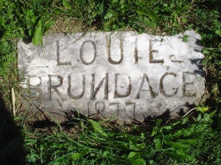 BRUNDAGE, LOUIE - Jones County, Iowa   LOUIE BRUNDAGE