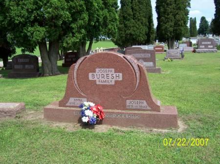 BENHART BURESH, ANNA - Jones County, Iowa | ANNA BENHART BURESH