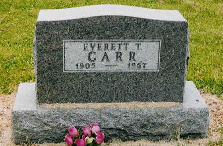 CARR, EVERETT - Jones County, Iowa | EVERETT CARR