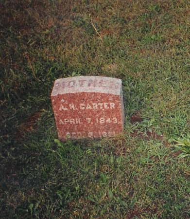 HUTCHISON CARTER, ANNA - Jones County, Iowa | ANNA HUTCHISON CARTER