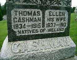 CASHMAN, THOMAS - Jones County, Iowa   THOMAS CASHMAN
