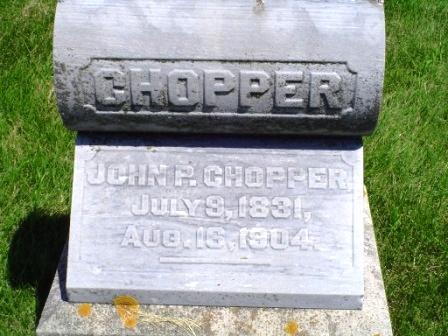 CHOPPER, JOHN P. - Jones County, Iowa | JOHN P. CHOPPER