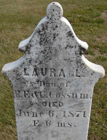 COSSUM, LAURA L. - Jones County, Iowa | LAURA L. COSSUM