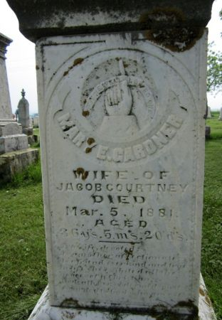 COURTNEY, MARY E. - Jones County, Iowa | MARY E. COURTNEY