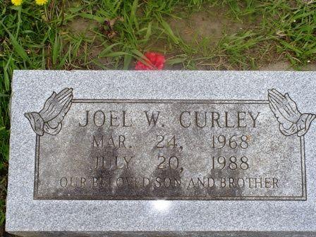 CURLEY, JOEL W - Jones County, Iowa   JOEL W CURLEY