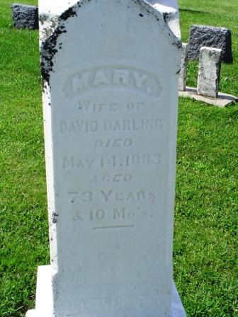 DARLING, MARY - Jones County, Iowa   MARY DARLING