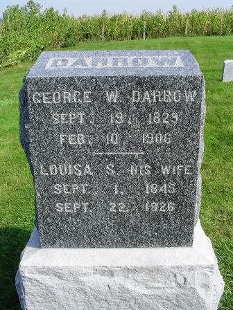 DARROW, GEORGE W - Jones County, Iowa | GEORGE W DARROW
