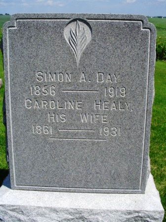 HEALY DAY, CAROLINE - Jones County, Iowa | CAROLINE HEALY DAY