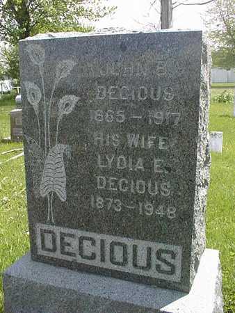 DECIOUS, JOHN B. - Jones County, Iowa | JOHN B. DECIOUS