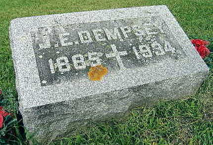 DEMPSEY, J. E. - Jones County, Iowa | J. E. DEMPSEY
