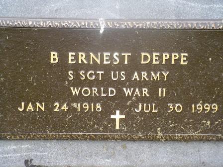 DEPPE, B. ERNEST - Jones County, Iowa | B. ERNEST DEPPE