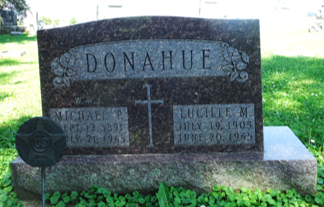 SUPPLE DONAHUE, LUCILLE M. - Jones County, Iowa   LUCILLE M. SUPPLE DONAHUE