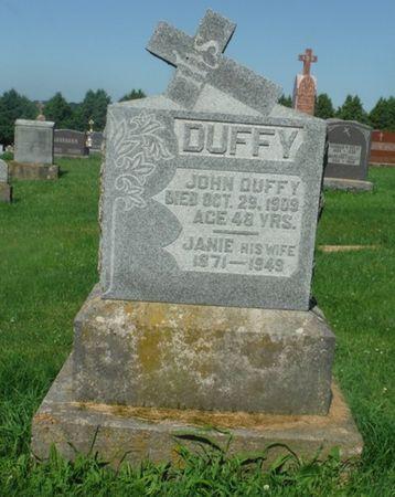 MULVEHILL DUFFY, JANIE - Jones County, Iowa   JANIE MULVEHILL DUFFY