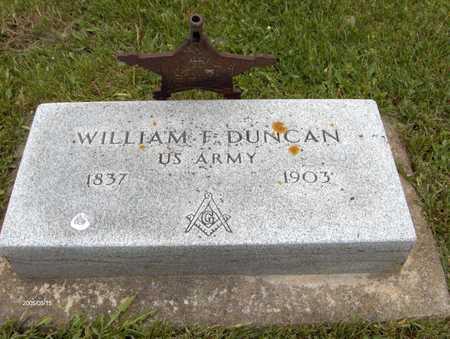 DUNCAN, WILLIAM F. - Jones County, Iowa | WILLIAM F. DUNCAN