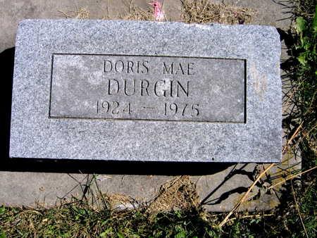 DURGIN, DORIS MAE - Jones County, Iowa | DORIS MAE DURGIN