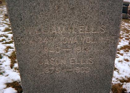 ELLIS, WILLIAM H. - Jones County, Iowa | WILLIAM H. ELLIS