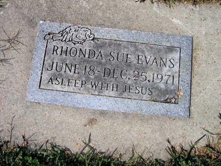 EVANS, RHONDA SUE - Jones County, Iowa | RHONDA SUE EVANS