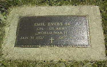 EVERS, EMIL, JR. - Jones County, Iowa | EMIL, JR. EVERS
