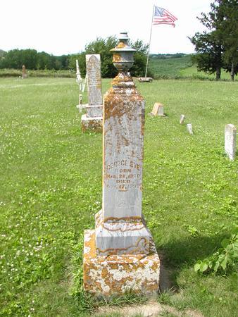 EYE, GEORGE - Jones County, Iowa | GEORGE EYE