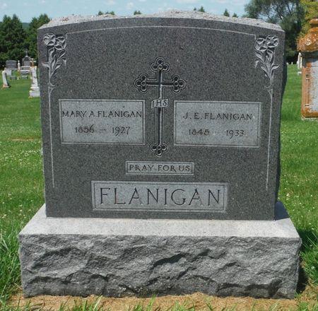 FLANIGAN, MARY A. - Jones County, Iowa | MARY A. FLANIGAN
