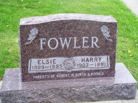 FOWLER, HARRY - Jones County, Iowa   HARRY FOWLER