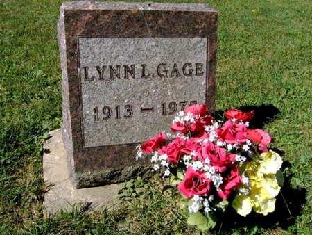 GAGE, LYNN L. - Jones County, Iowa | LYNN L. GAGE