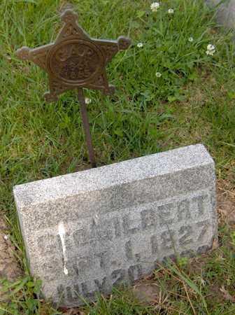 GILBERT, GEORGE - Jones County, Iowa   GEORGE GILBERT