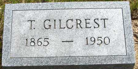 GILCREST, T. - Jones County, Iowa   T. GILCREST