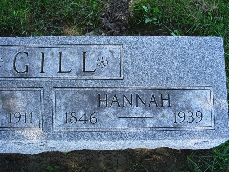 GILL, HANNAH - Jones County, Iowa | HANNAH GILL