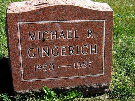 GINGERICH, MICHAEL R. - Jones County, Iowa | MICHAEL R. GINGERICH
