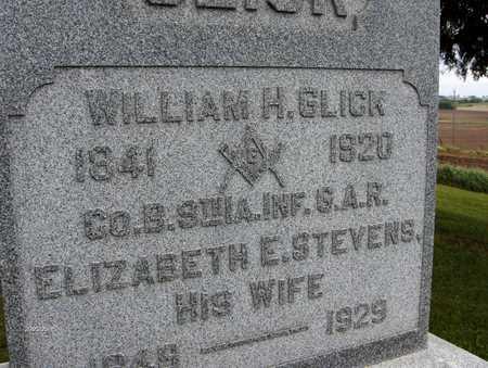 GLICK, WILLIAM H. - Jones County, Iowa | WILLIAM H. GLICK