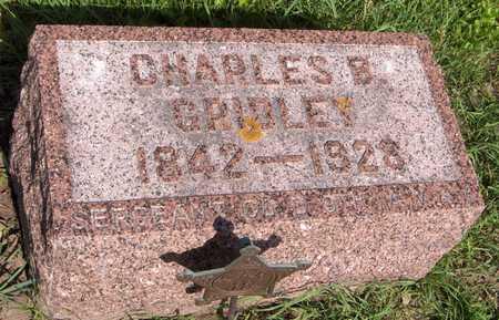 GRIDLEY, CHARLES B. - Jones County, Iowa   CHARLES B. GRIDLEY
